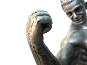 muscle-man-statue